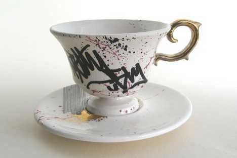 Bring Graffiti to High Tea