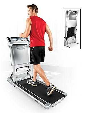Ultra Compact Treadmill Folds Into 10 Inches