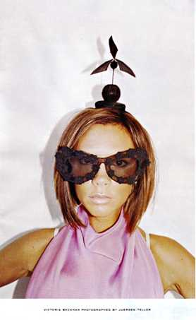 Victoria Beckham Gets Goofy For Campaign