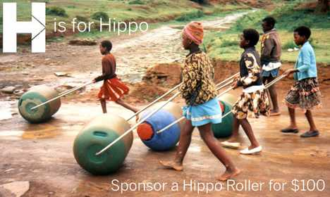 Sponsor A Hippo Roller For An African Community