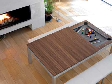 25+ Space Saving & Transforming Designs + Dining & Pool Fusion Table