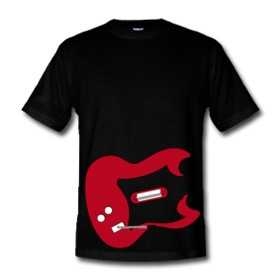 Play Guitar Hero On Your T-Shirt - The Guitar Hero