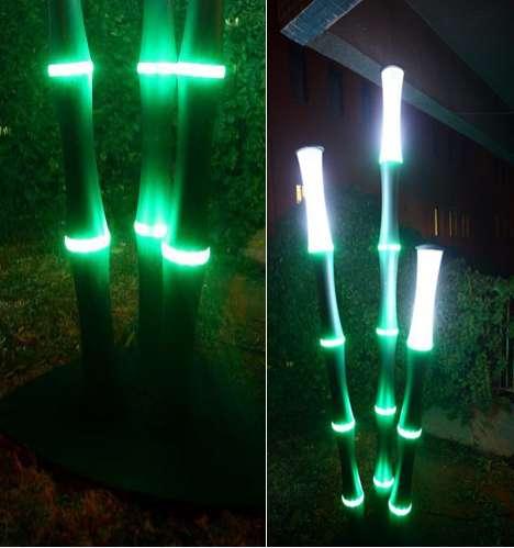 Led Bamboo Lights Sevcan Yardim S