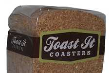 Trickery Toaster Coasters - Patricia Graves' 'Toast It' Adds Some Satire to Brunch