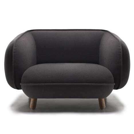 Plush Round Sofas