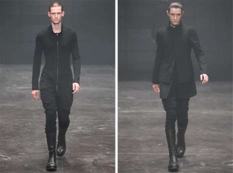 The Julius Fall/Winter 2012 Line is Shown in Not-So-Basic Black