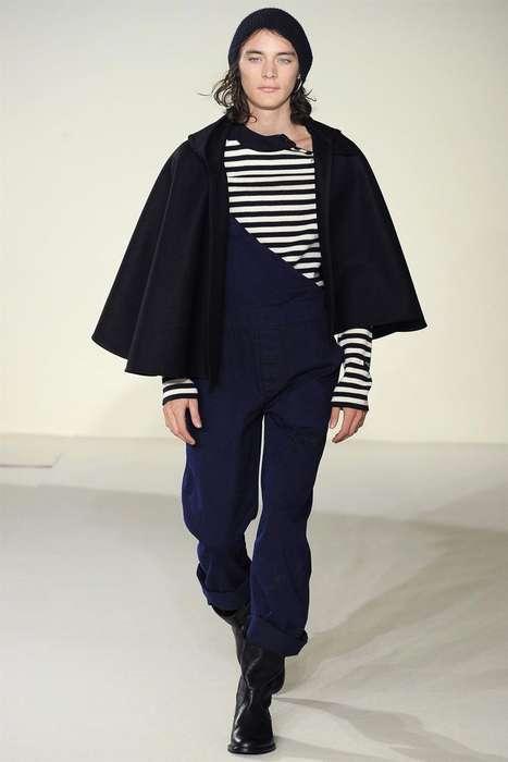 Contemporary-Caped Menswear
