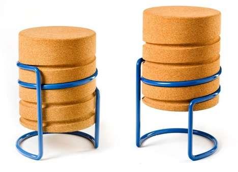 Cork-Inspired Seating