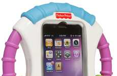 Infant-Friendly Mobile Covers - Laugh & Learn Baby iPhone Case Safely Let Kids Play with Phones