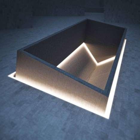 Commemorative Upside-Down Architecture