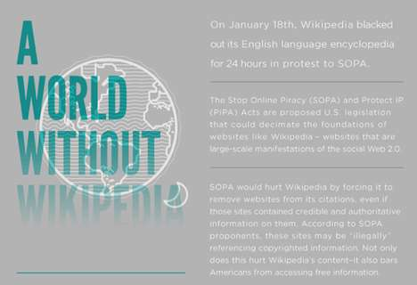 Woeful Web Blackouts - 'A World Without Wikipedia' Examines the SOPA Protest