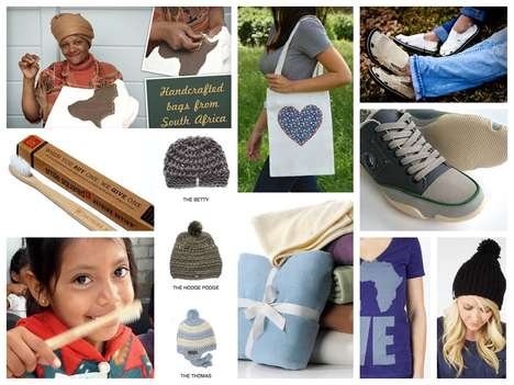 Altruistic Online Marketplaces - 'Shop With Meaning' Sells Socially-Responsible Items with a Story