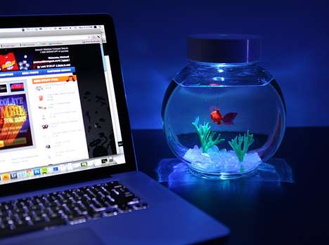 Battery-Powered Aquatic Pets