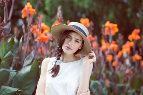 Pastel Springtime Portraits - Laura Wood Lights up in Michelle Dylan Huynh's Portraits