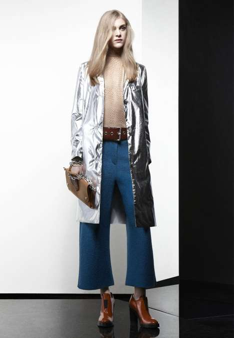 Teen Time Capsule Couture - The Acne Pre-Fall Collection Uses Elements of the Past