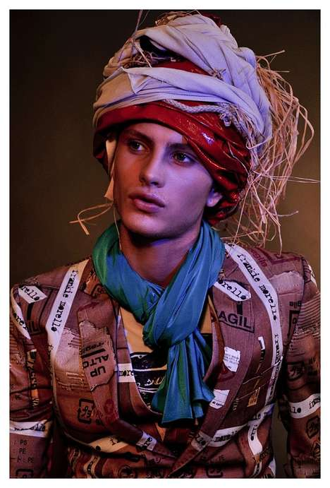 Multi-Cultural Menswear Shoots - Andrea Bellisario Rocks it in Rocket Magazine Issue 07