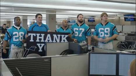 Fan-Serenading Football Stars - The NFL 'We Play For You' Video Features Players Singing Thank You