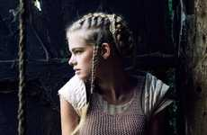 Brilliantly Braided Hairstyles - The Jeff Hahn for Tatler Hong Kong Presents Countryside Charm