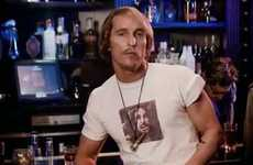 Iconic Cool Kid Cameos - Matthew McConaughey as David Wooderson for 'Synthezisers' Music