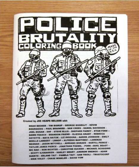 Colorful Cop Violence Books