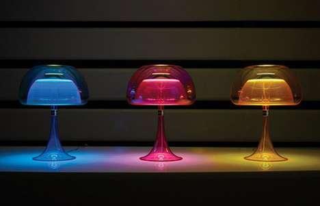 Vibrant Jellyfish Lighting