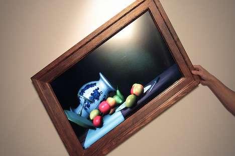 Interactive Digital Paintings