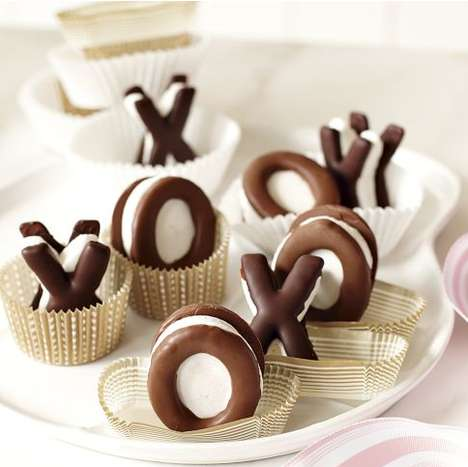 Caring Campfire-Inspired Confections - The Two Hearts Bakery 'X and O S'mores' are Sweet Snacks