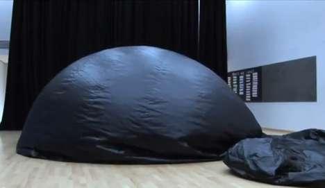 Ballooning Portable Planetariums