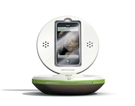 Pregnancy-Sharing iDevice Docks - The iBaby Smartphone Dock Makes Sharing Fetus Photos Easier