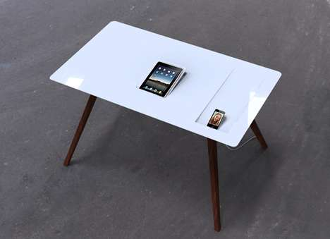 Tablet-Charging Tabletops