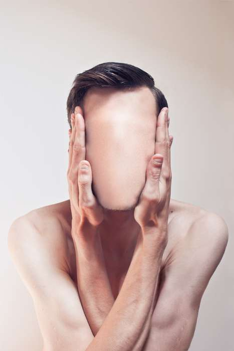 Freaky Faceless Figures - Me & Edward Features Eery Images