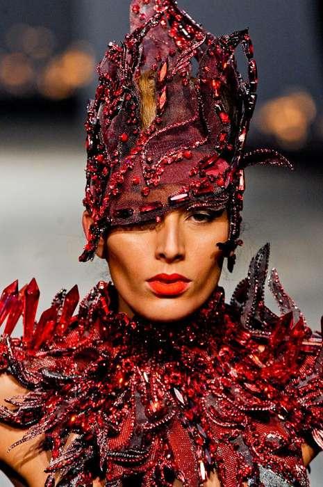 Bejeweled Alien Fashion