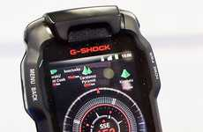 Mammoth Survival Smartphones - The G-Shock Phone is Built a Variety of Devastating Damage