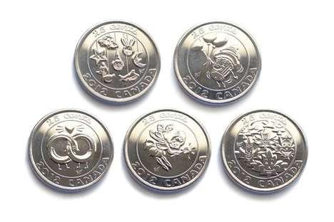 Cute Cartoonish Coins