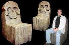 Scary Skull Seating - Designer Richard Riley is Dying to Get You in His Chair
