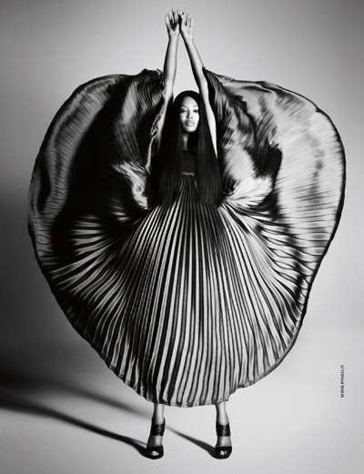 Voluminous Pleated Gowns