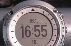 Explorer-Equipped Timepieces - The Suunto Ambit GPS-Enabled Watch Tracks Performance and Heart Rate