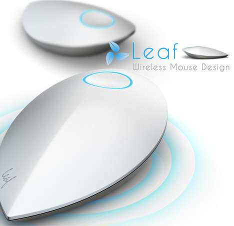 The Leaf Wireless Mouse Does Not Need Batteries