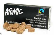 Mouth-Cleaning Capsules (UPDATE) -  Lush Toothy Tabs are an Eco-Friendly Way Clean Your Teeth