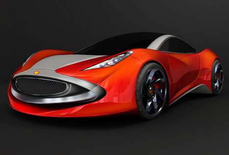 Oil Company Concept Cars