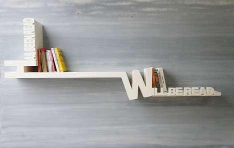 Reader Reminder Bookshelves