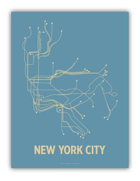 Simplistic Subway Maps