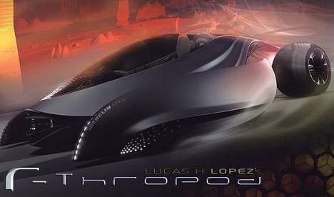 The RThropod Concept Car Connects on a Genetic Level with Drivers