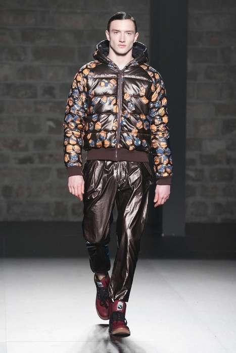 Butterfly Puffer Coats
