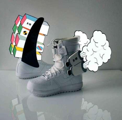 Customized Sneaker Art