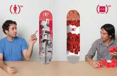 AIDS-Battling Skateboards - Girl x Chocolate (Product) RED Skateboards Aim to Fight the Disease