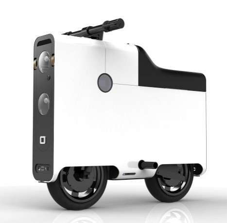 Geometrical Eco Travelers  - The Boxx Scooter Takes on a Strange Unconventional Shape