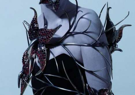 Metamorphosis by Thomas Straub for Swarovski Covers the Body in Jewels