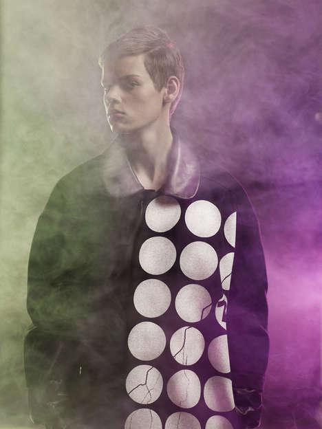 Smoke-Filled Streetwear Shoots