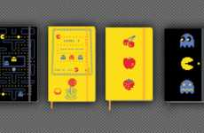 Vintage Arcade Notepads - Moleskine Pac-Man Looks Back to Retro Games for the New Line